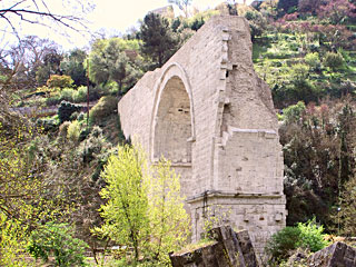 t4 m narni ponte di augusto pilgrimage on the road proto martyrs franciscan